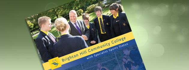 New prospectus for Brighton Hill Community School, Basingstoke
