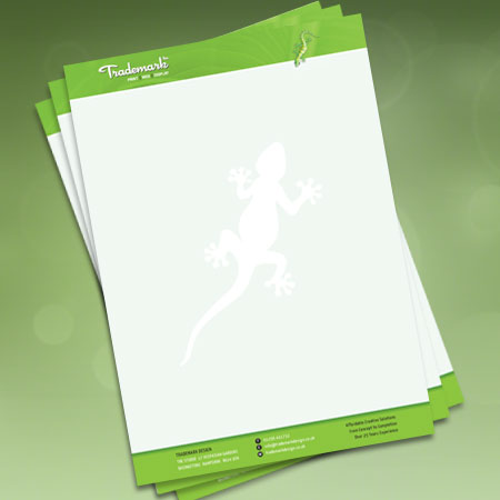 letterhead paper with watermark